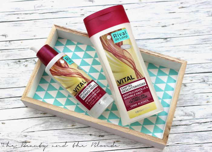 Rival de Loop Vital Pflegendes Reinigungsöl und Gesichtswasser mit Mizellentechnologie, Limited Edition von Rossmann