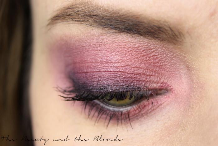Springtime Grunge AMU in pink und lila