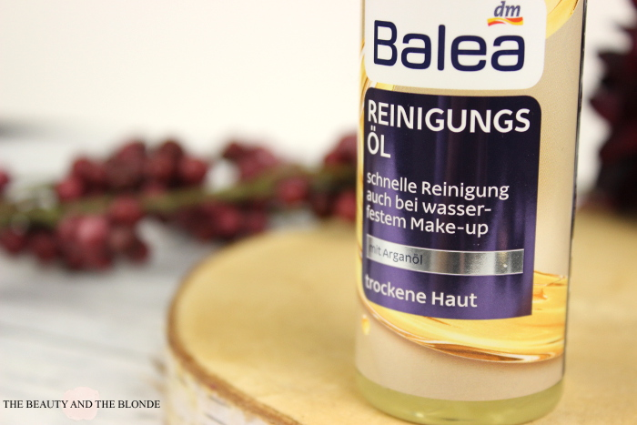 Balea Reinigungsöl Flasche