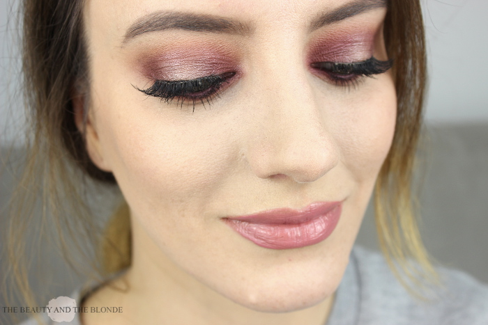 Makeup using Makeup Geek Eyeshadows Burlesque and In The Spotlight