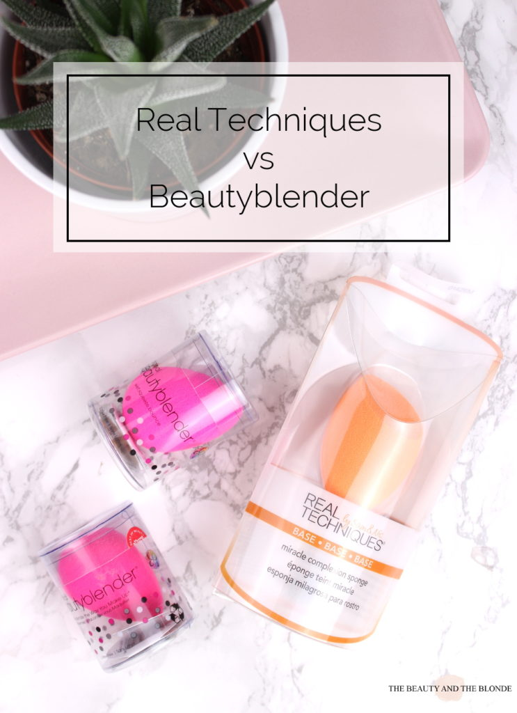Vergleich Real Techniques Miracle Complexion Sponge vs Beautyblender Review