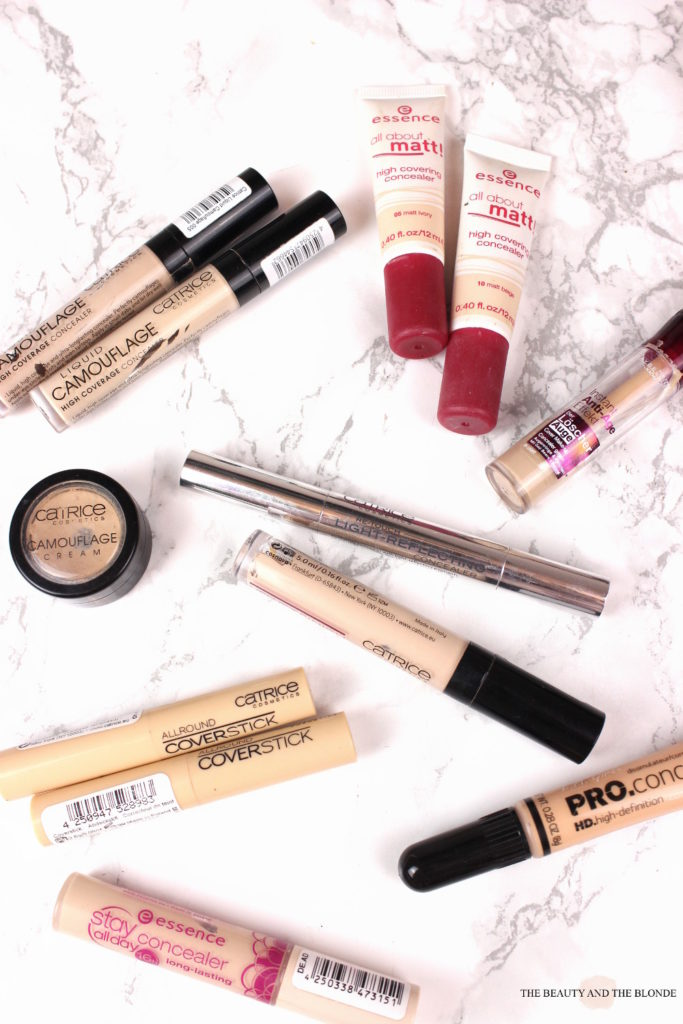 Make Up Collection, Concealer, Drugstore, Drogerie, Vergleich, Compared