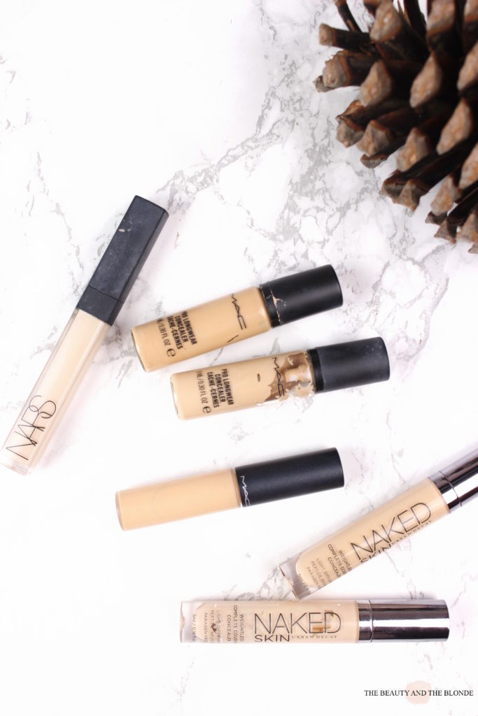 Make Up Collection, Highend Concealer Compared, Vergleich