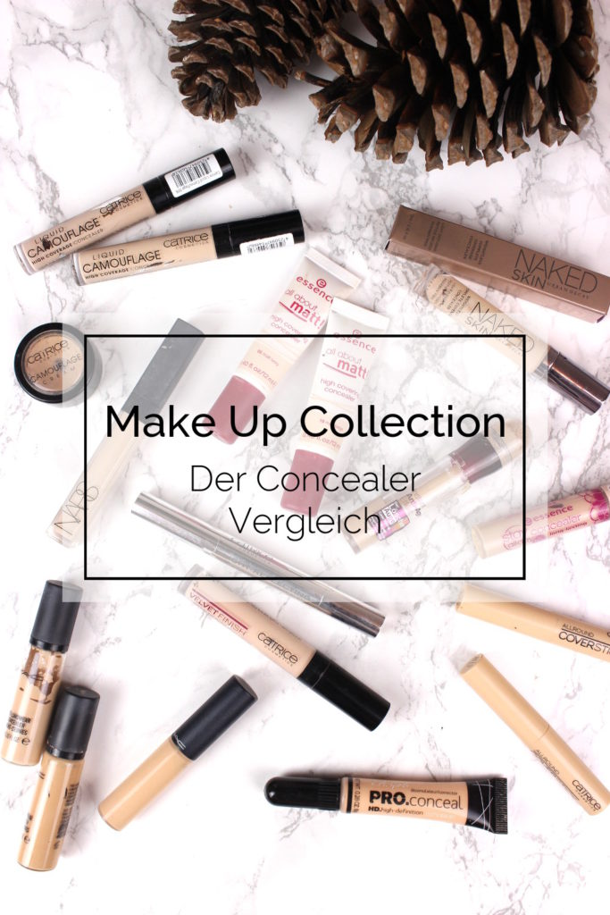 Make Up Collection, Concealer, Vergleich, Compared, Drugstore, Highendk, Thumbnail