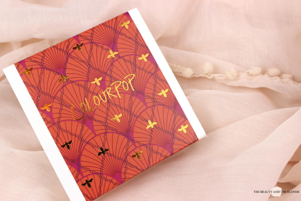 Colourpop Zingara Set Review Swatches Packaging