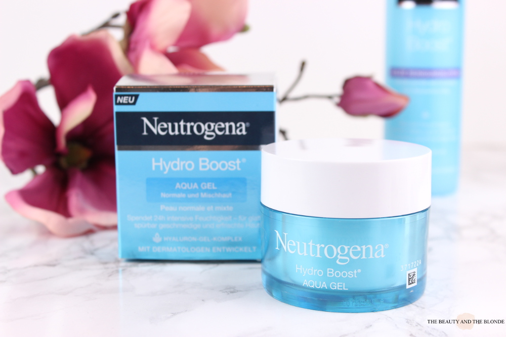 Neutrogena Hydro Boost Aqua Gel Review Tiegel Jar Drogerie Drugstore