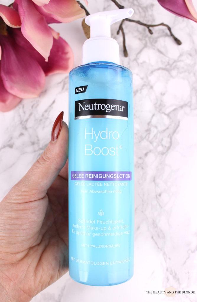 Neutrogena Hydro Boost Gelée Reinigungslotion Review Drogerie Drugstore Hautpflege Reinigung