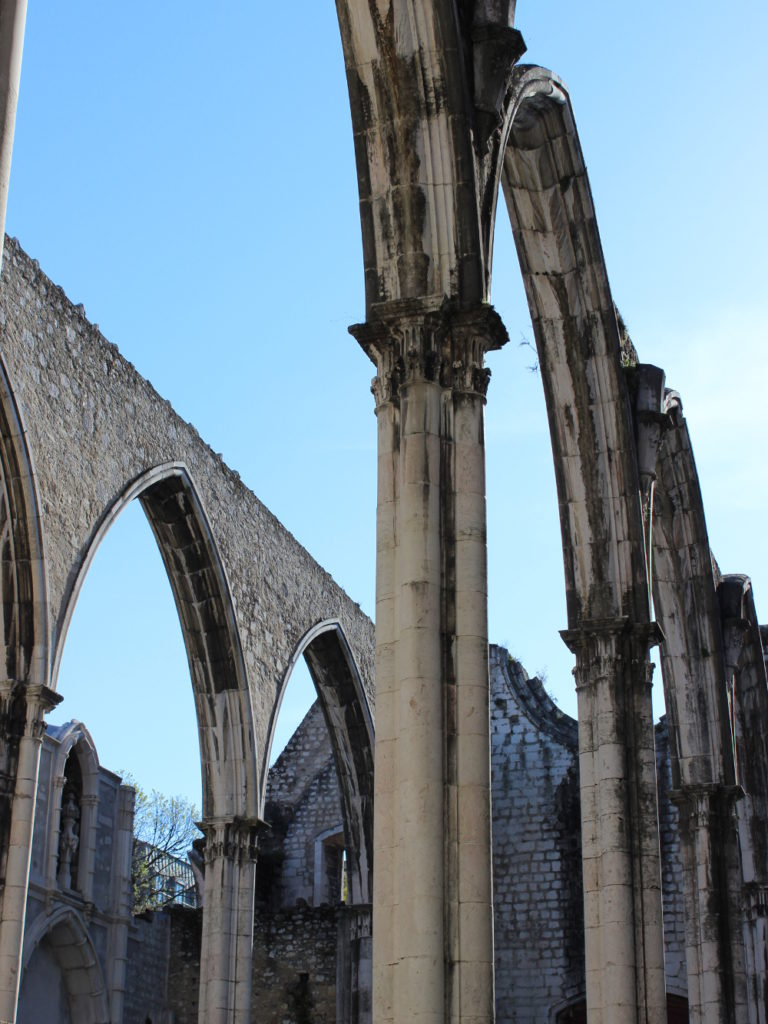 Lissabon Lisbon Lisboa Igreja do Carmo museum archeological travel guide tipps