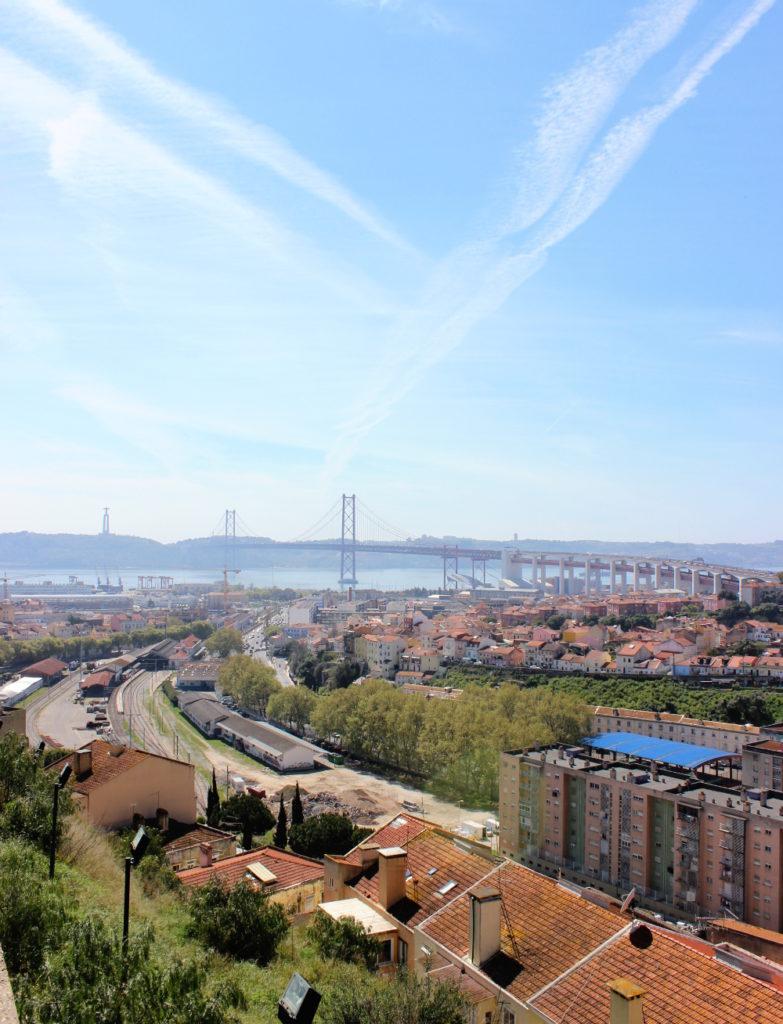 Lissabon Cemiterio dos Prazeres Travel Guide Friedhof Aussicht