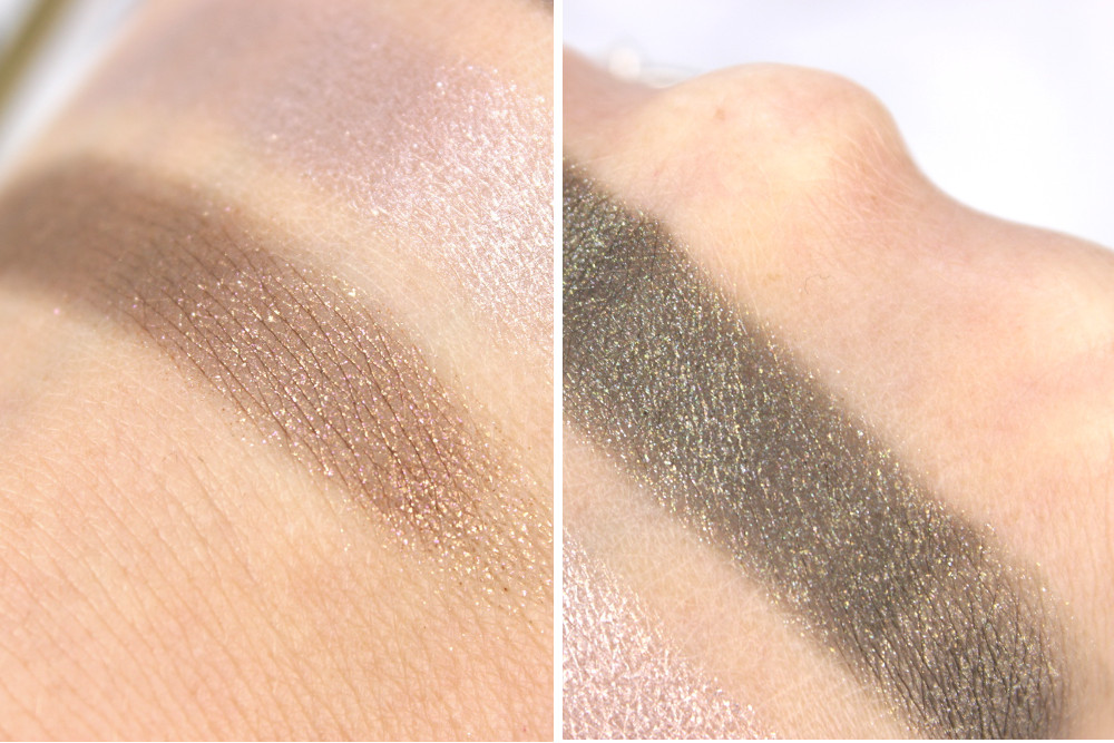 Colourpop Nillionaire Hammered Swatch Detail Glitter
