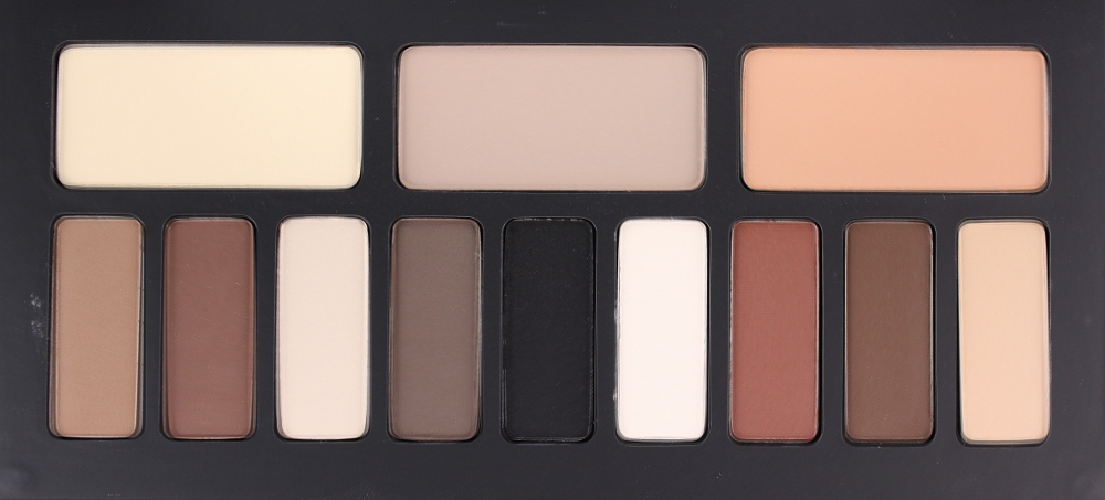 Kat von D Shade and Light Eye Palette Review Swatches Matte Eyeshadow Quad Neutral Cool Warm