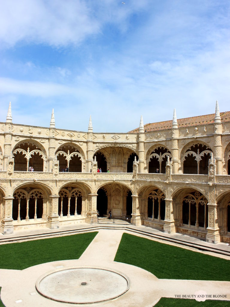 Lissabon Lisbon Lisboa Travel Diary Mosteiro dos Jeronimos Hieronymus Kloster Kreuzgang
