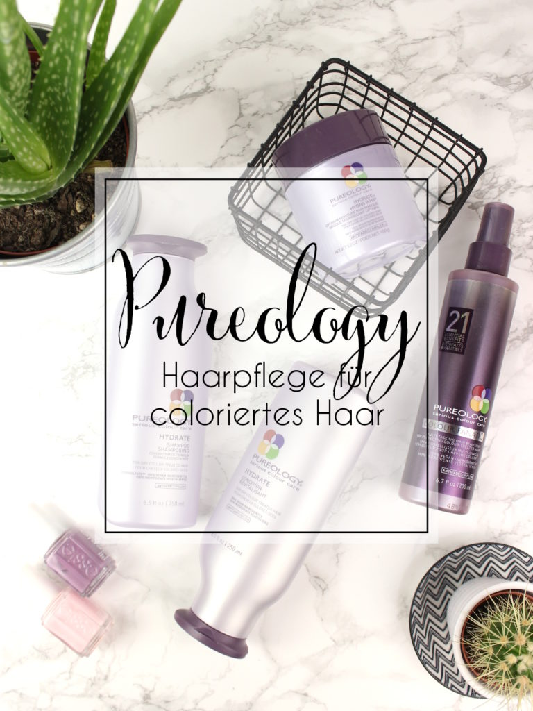 Pureology Hydrate Haar Pflege Produkte Review Coloriertes