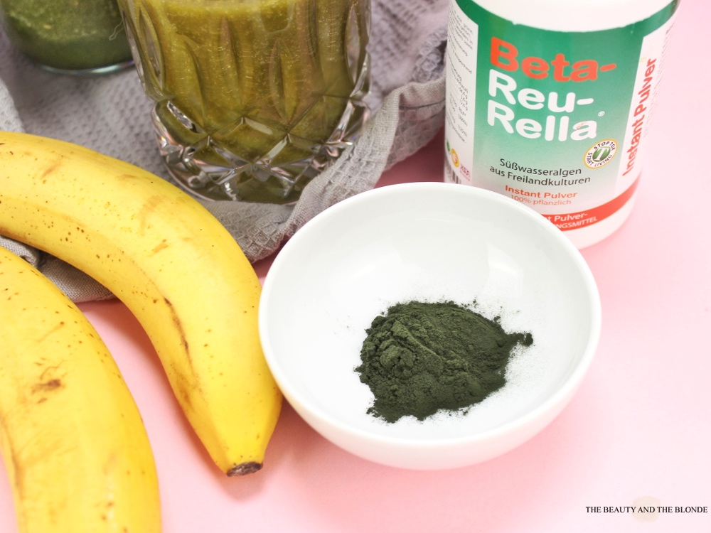 Green Smoothie Beta Reu Rella Chlorella Algen Pulver