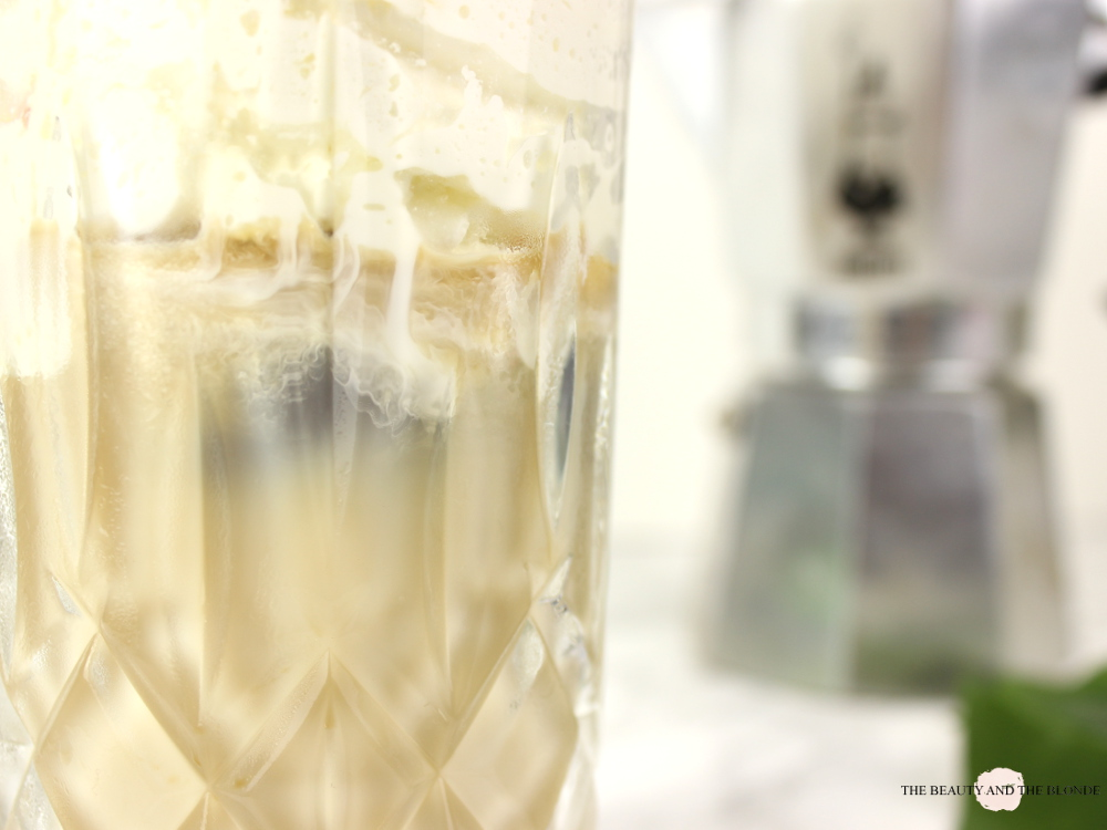 Homemade Iced Coffee Eiskaffee DIY