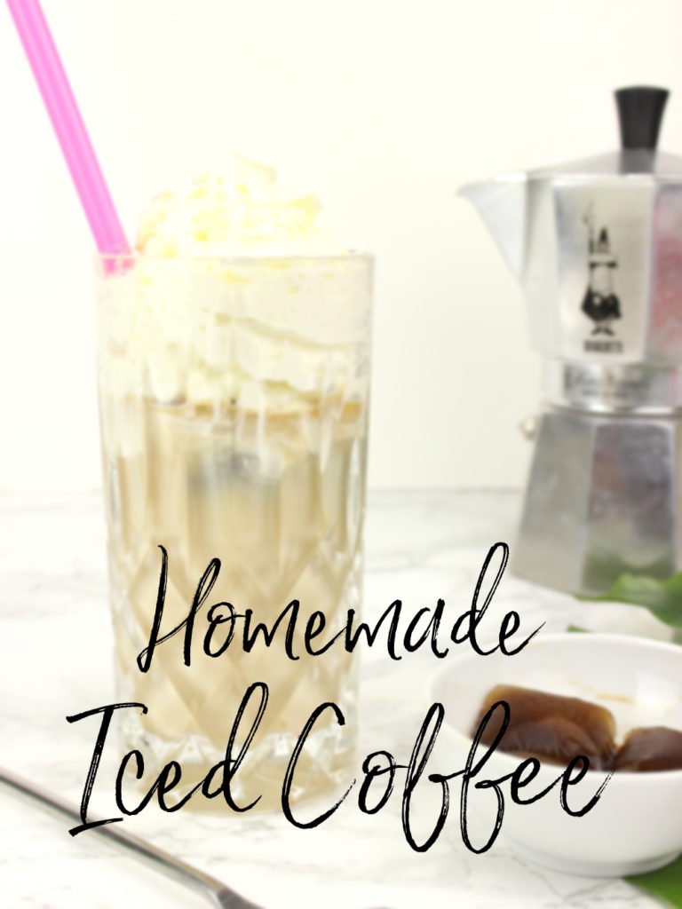 Homemade Iced Coffee DIY Eiskaffee selbstgemacht
