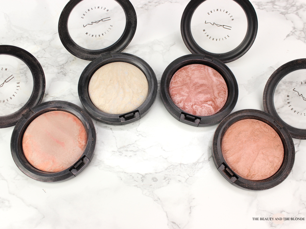 MAC Mineralize Skinfinishes High End Highlighter Adored Lightscapade Lust Stereo Rose