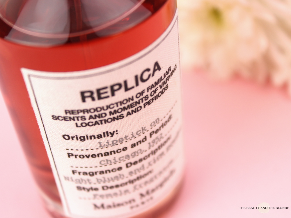 Maison Margiela Replica Lipstick On Parfum Duft Fragrance Review Cotton Label Details