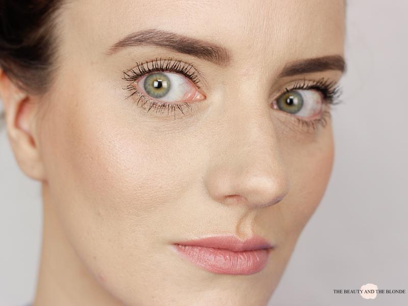 L'Oréal Miss Baby Roll Mascara Aufgetragen Drogerie Review