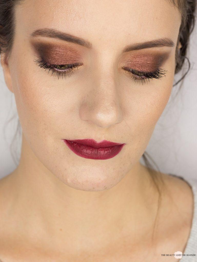 Eine Palette vier Looks Lorac Pro 1 Palette Fall Makeup Look AMU Eyemakeup