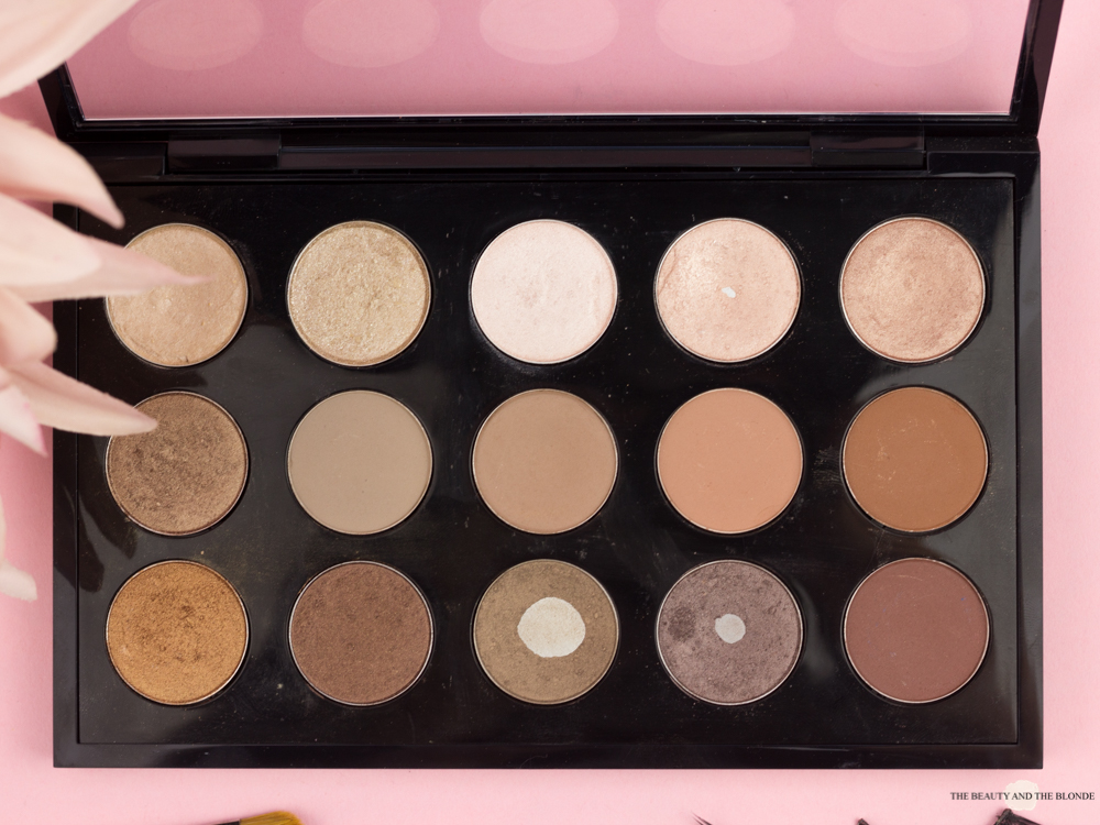 Makeup Collection MAC Palette Lidschatten Eyeshadows Neutrals
