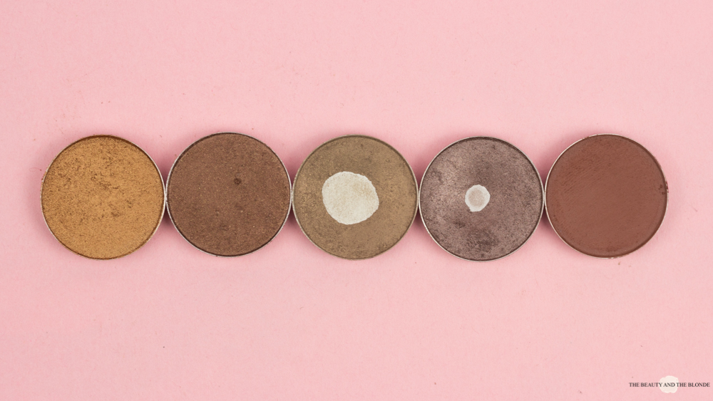 MAC Eyeshadows Lidschatten Amber Lights Mulch Patina Satin Taupe Swiss Chocolate