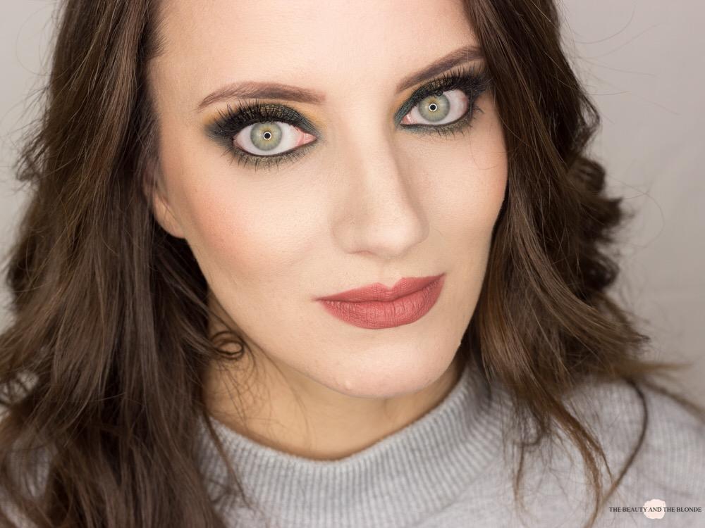 Green Halo Eye Eyeshadow Look Blogparade