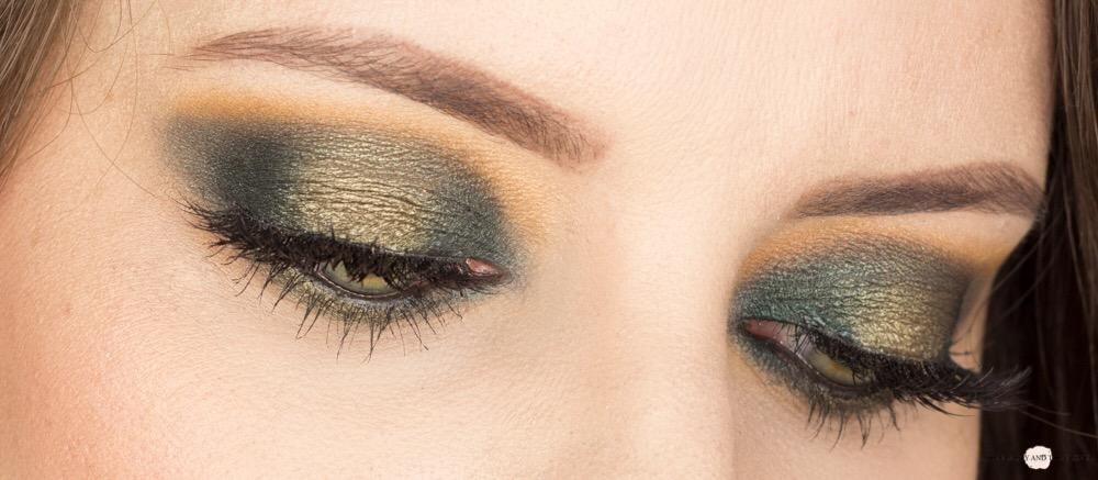 Green Eyeshadow Look Blogparade