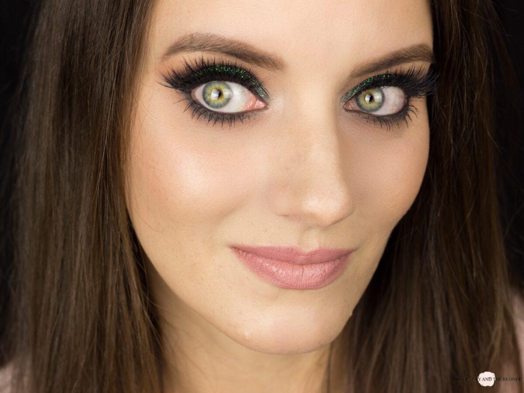 Lit Cosmetics Magic Dragon Glitter Look Eye Makeup AMU