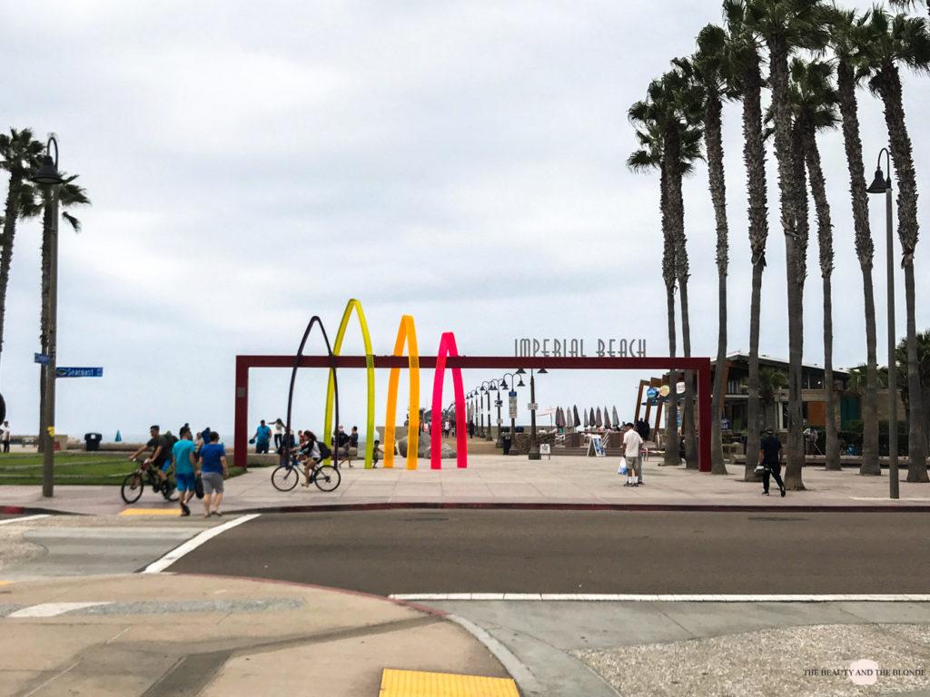 Imperial Beach Pier San Diego