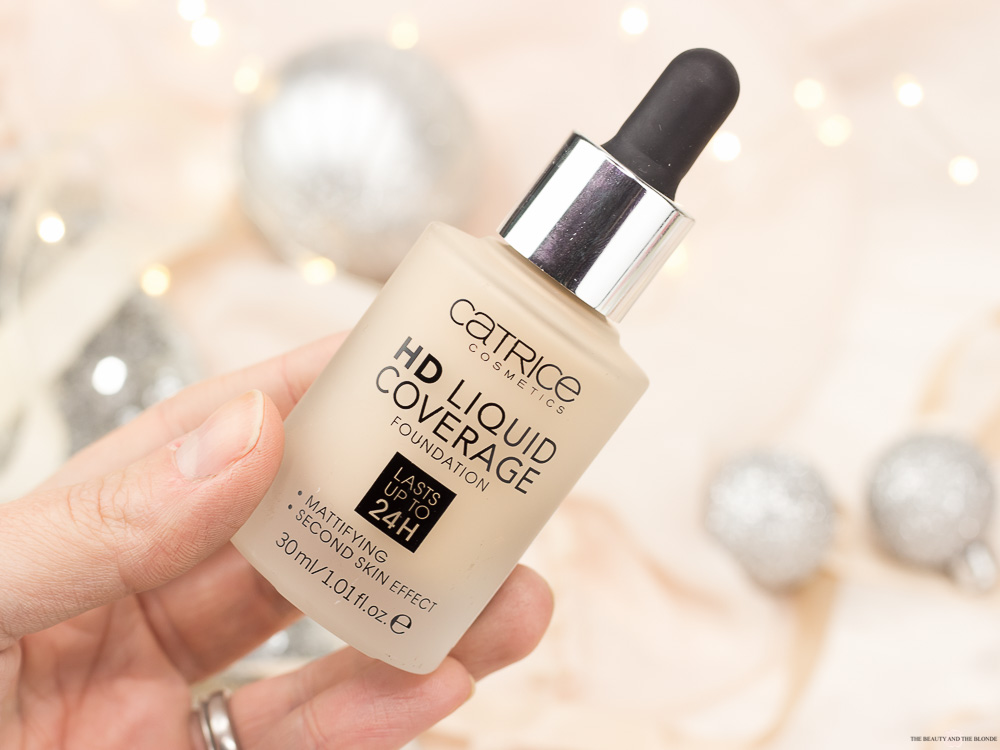 Catrice HD Liquid Coverage Foundation Review Swatches