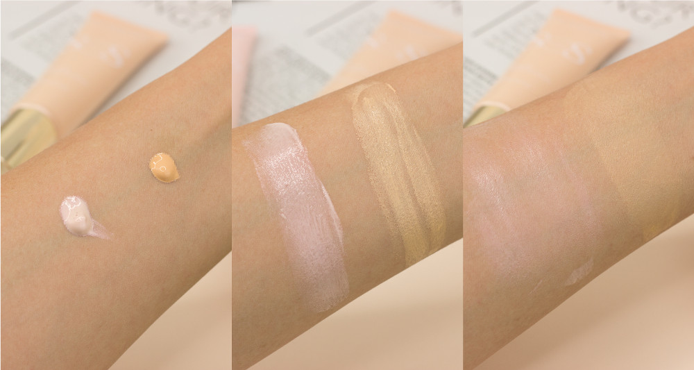 Clarins SOS Primer Rose Peach Swatches Review Highend Makeup