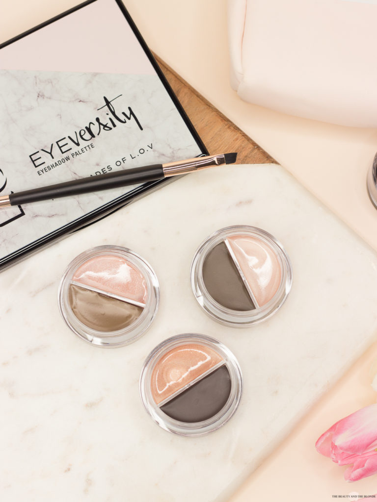 L.O.V Code: Nude Collection Eyebrow Pomade Highlighter Review Drogerie Drugstore