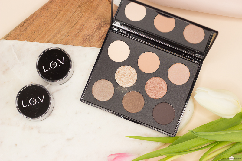 L.O.V Code: Nude Eyeversity Eyeshadow Palette Review Drogerie