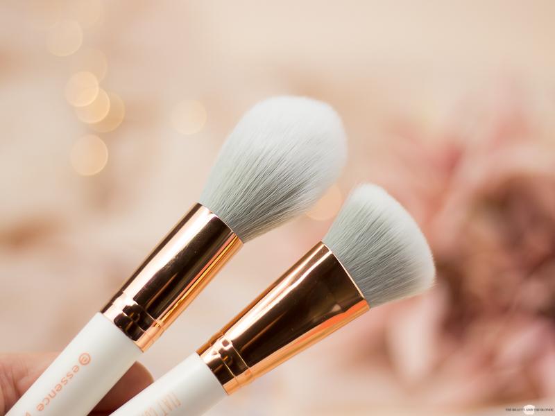 essence Sortimentsumstellung 2018 Gesichtspinsel Bronzer Brush Flat Contour Brush