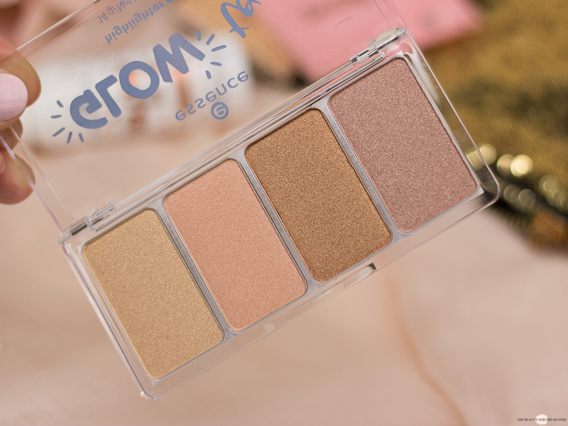 essence glow To Go Highlighter Palette Drogerie Update Neues Sortment