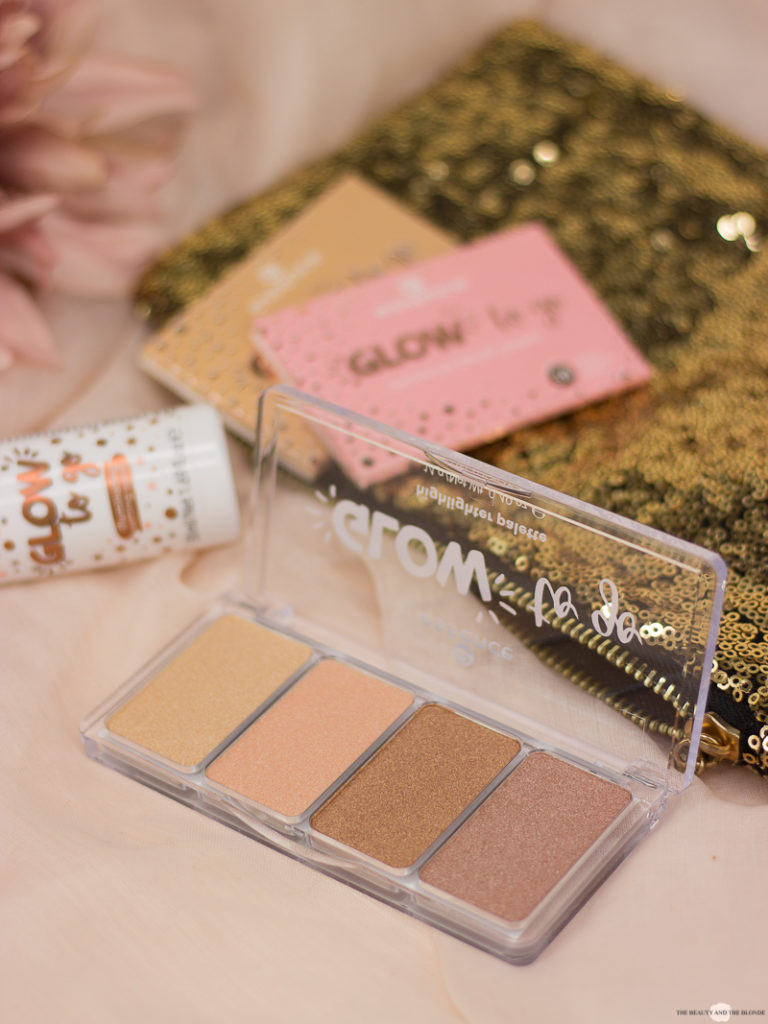 essence Glow To Go Highlighter Palette Review Drogerie Update Neues Sortiment
