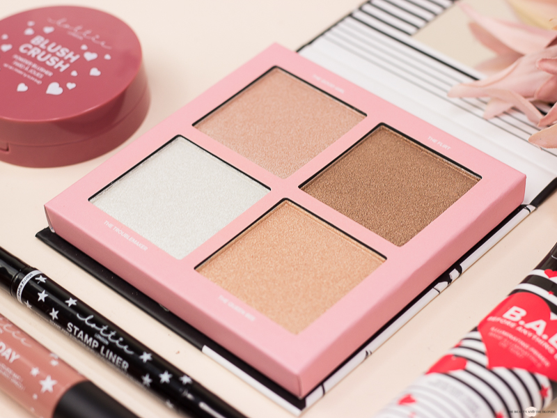 Lottie London Shimmer Squad Highlighter Palette Rossmann Review