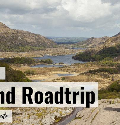 2 Wochen Roadtrip Irland  Unsere Reiseroute