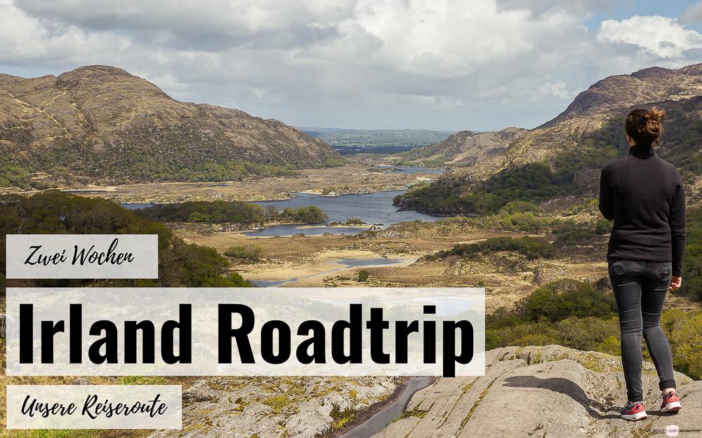 Irland Roadtrip Reiseroute