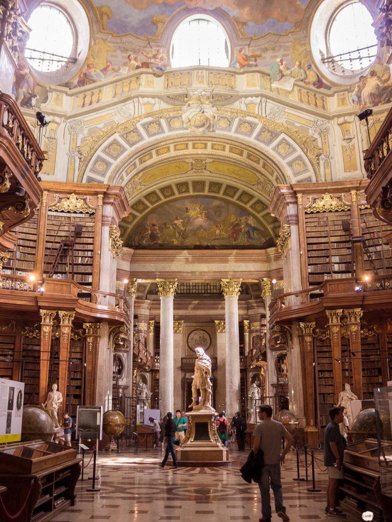 Wien in 24 Stunden Travelguide Tipps Reisetipps Prunksaal Österreichische Nationalbibliothek