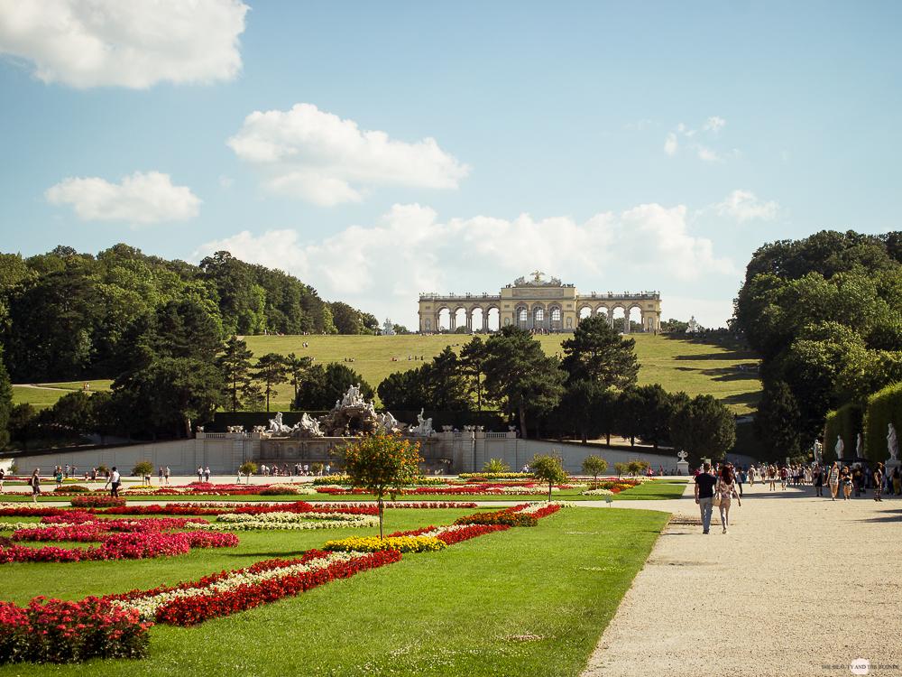 Wien in 24 Stunden Travelguide Tipps Reisetipps Gloriette Schloss Schönbrunn