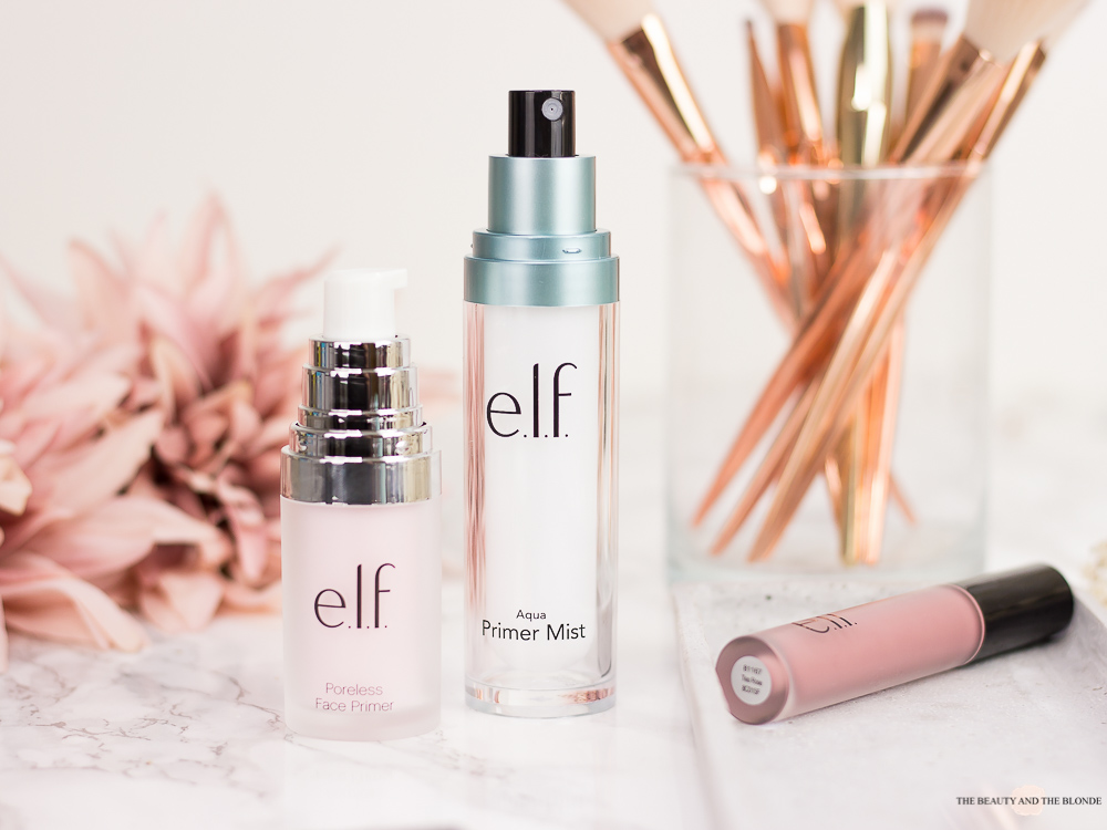 e.l.f. Cosmetics Poreless Face Primer Aqua Primer Mist Review